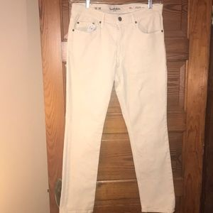 Goodfellow & Co Jeans Slim 32x30 Natural orCream